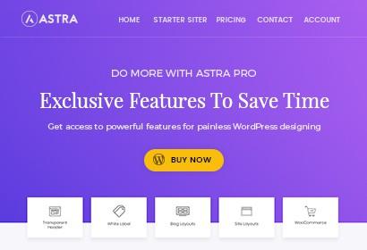 Astra Pro Screenshot